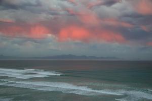 sunset over False Bay, South Africa